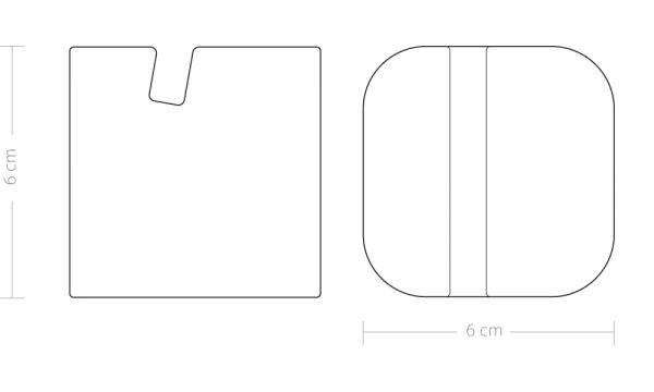 block marble tablet stand iPad line drawing