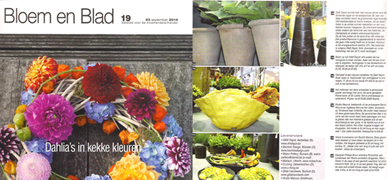bloem en blad features boca porcelain watering bottle