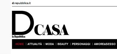D casa internet page snapshot of D repubblica