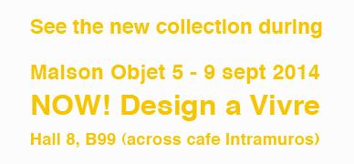 Maison Objet Studio Macura september 5 -9,  2014 Paris France